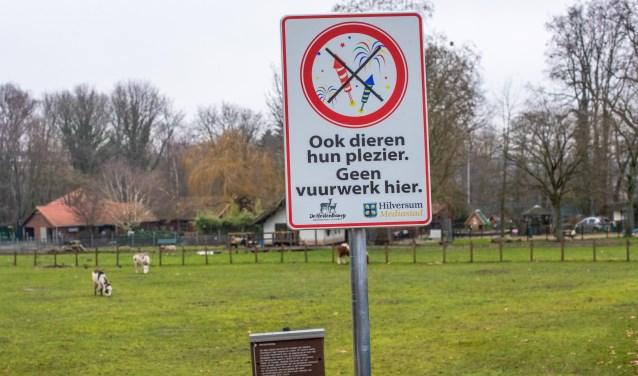 Kinderboerderij de Hertenkamp was vorig jaar al vuurwerkvrij.