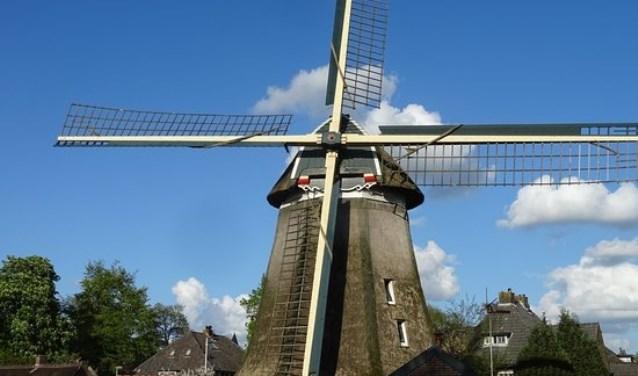De molen van Laren.