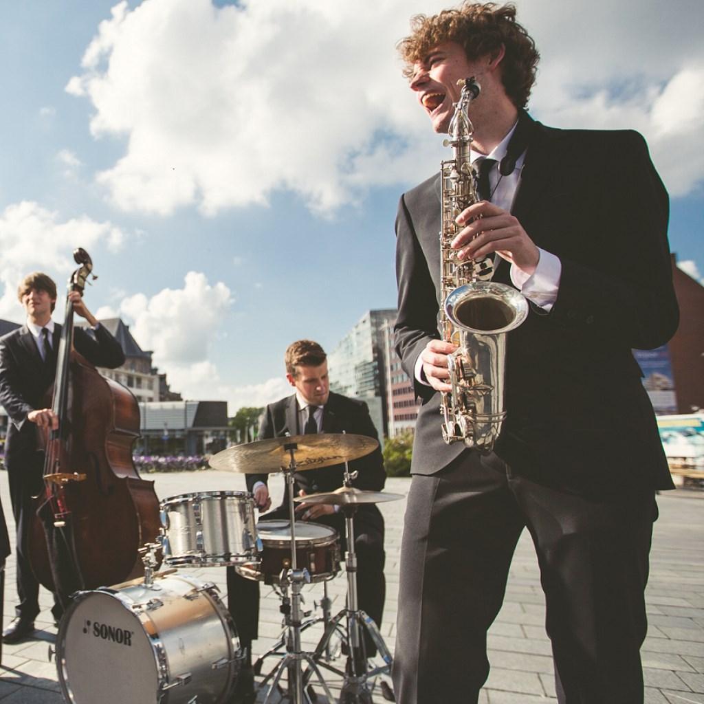 Het Thijs Nissen Trio.