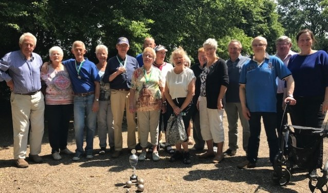 De deelnemers aan het toernooi.