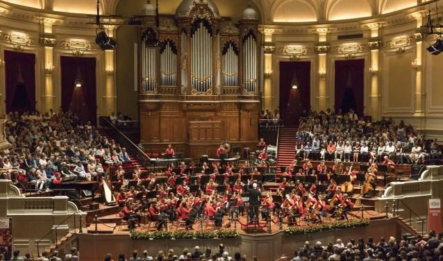 AJSO vorig jaar in het Concertgebouw.