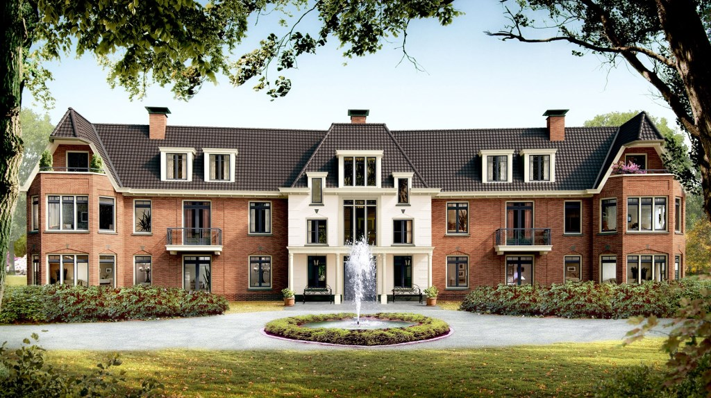 Appartementencomplex Steen & Bergh.  Foto: WBC Bouwgroup © Enter Media