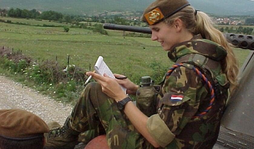 Mirjam was op 25-jarige leeftijd legerjournalist.
