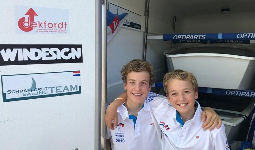 De broers uit Naarden mochten meedoen aan het WK.