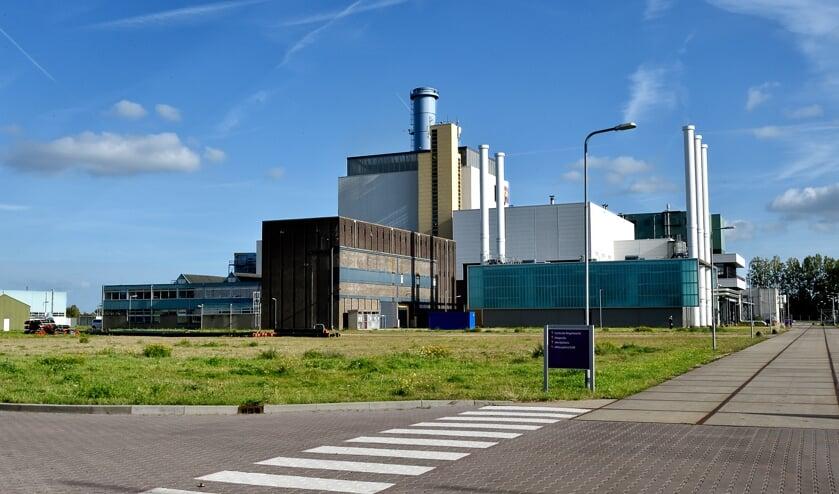De NUON-centrale in Diemen waar men een biomassacentrale wil bouwen.