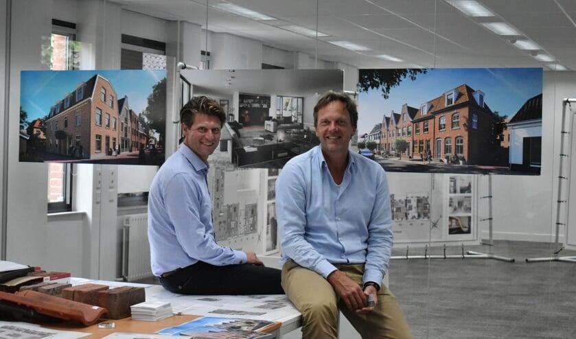 Erik Hennipman en Walter Fett zijn blij dat alle vergunningen binnen zijn.
