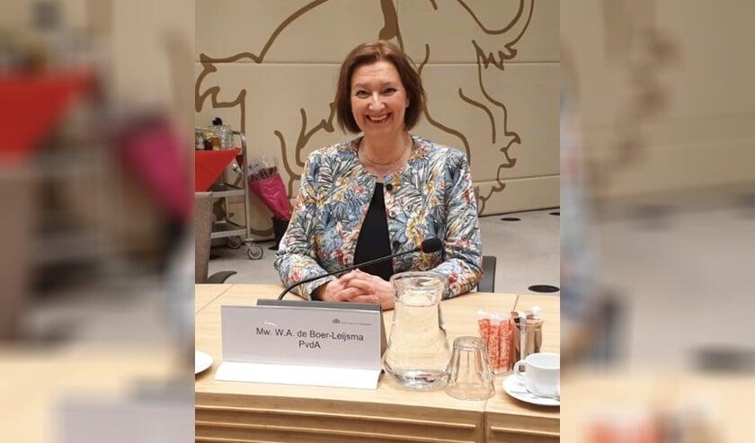 Wilma de Boer-Leijsma zet zich nu in voor de Provinciale Staten.