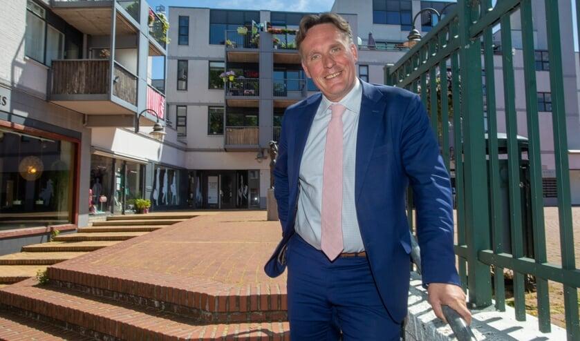 Jorrit Eijbersen wordt wijkwethouder van het centrum van Bussum.