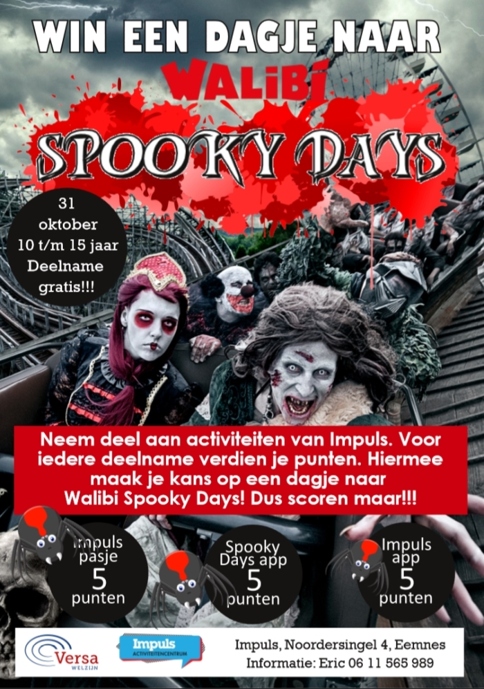 Informatie over Spooky Days