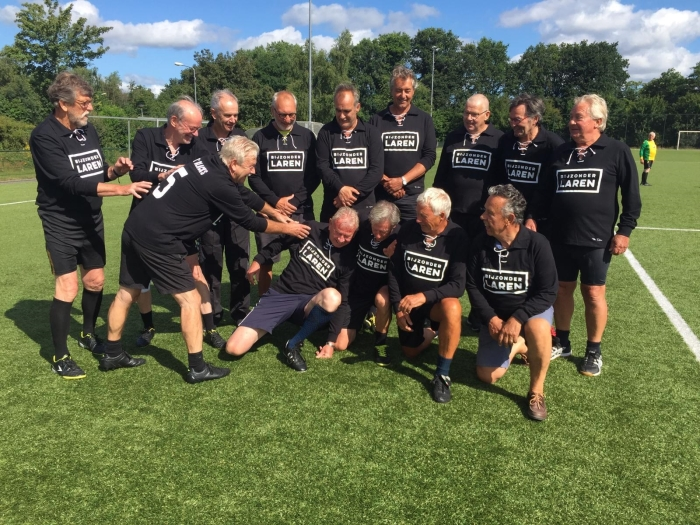 Walking Football team Ol'Blacks
