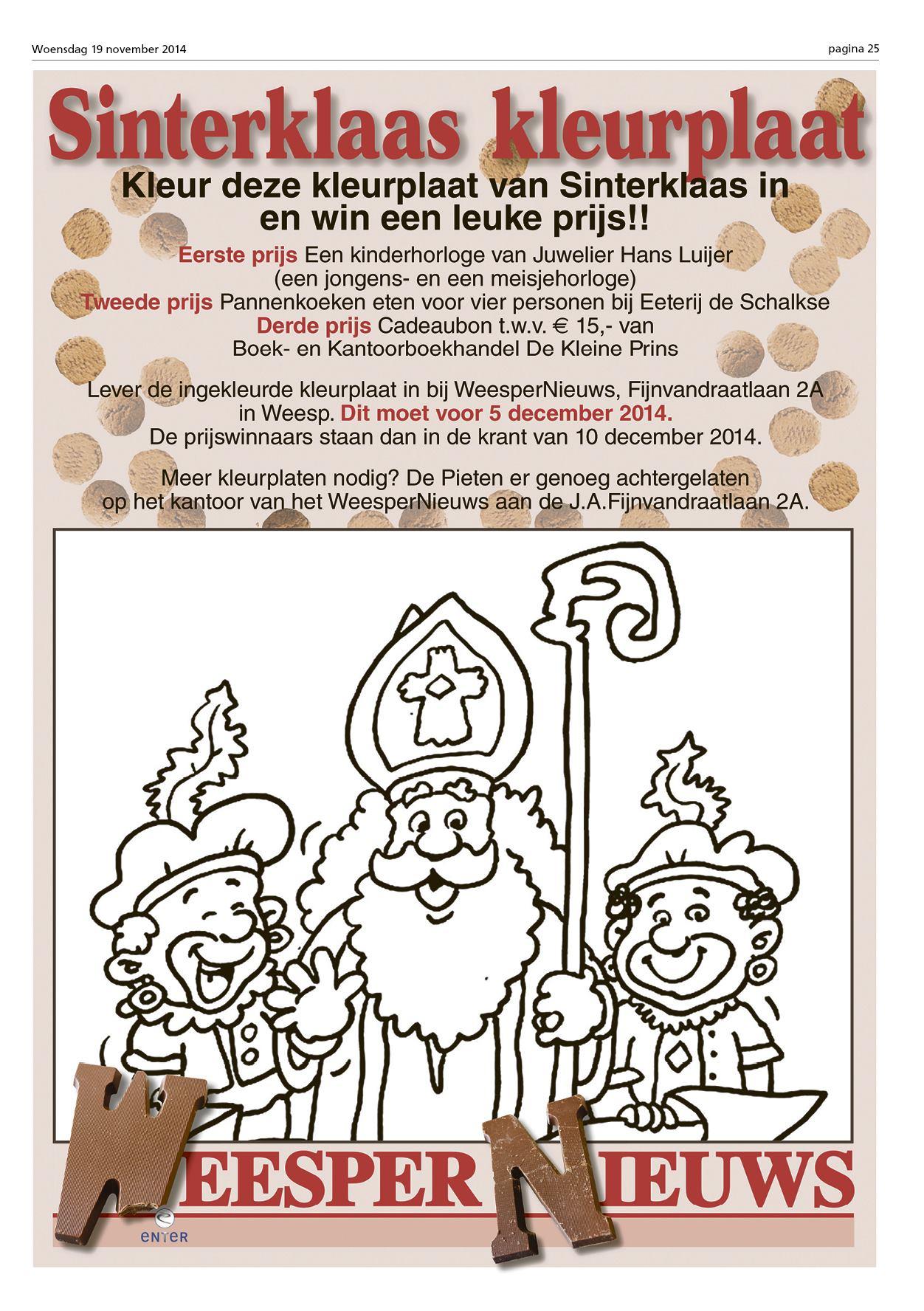 Luxe Kleurplaat Sinterklaas En De Verdwenen Pakjesboot