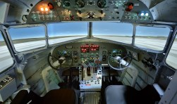 Een tweede leven voor de gecrashte DC-3 als flightsimulator.