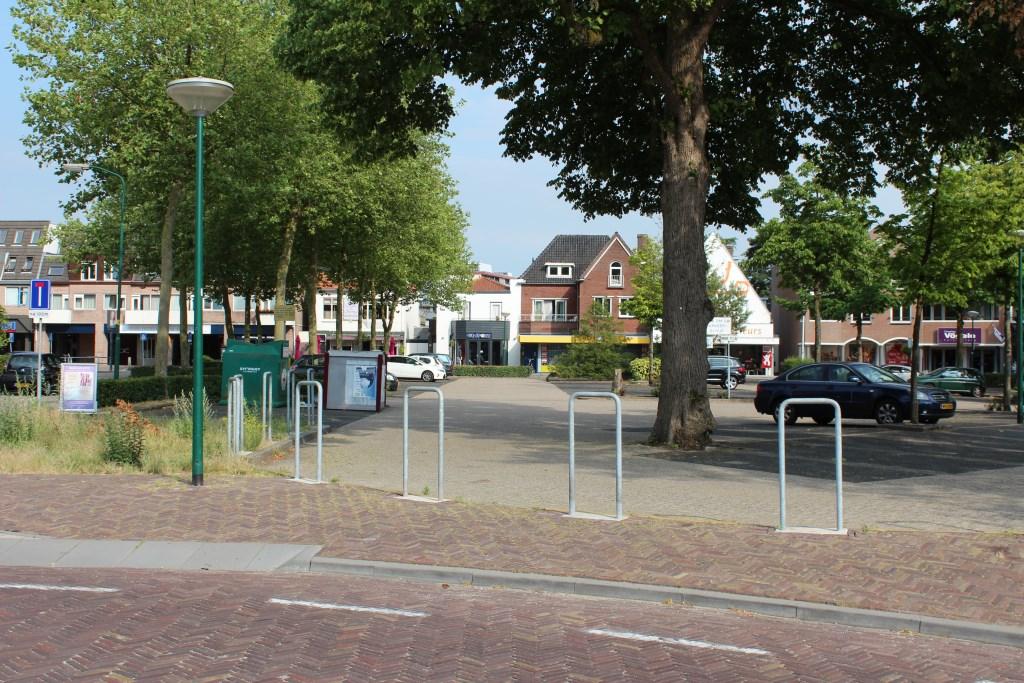 Officieel bestaat het Vinkenplein niet, het is in feite een plein op de Vinkenlaan.  © De Vierklank