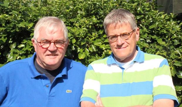 Frits Jansen en Hein Banken zetten zich al vele jaren in voor het leefklimaat langs de A27 in deze gemeente.