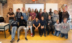 De leerlingen van het Groenhorst zijn er klaar voor.