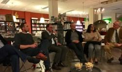 Kernbijeenkomst in de Bilthovense Boekhandel aan de Julianalaan.