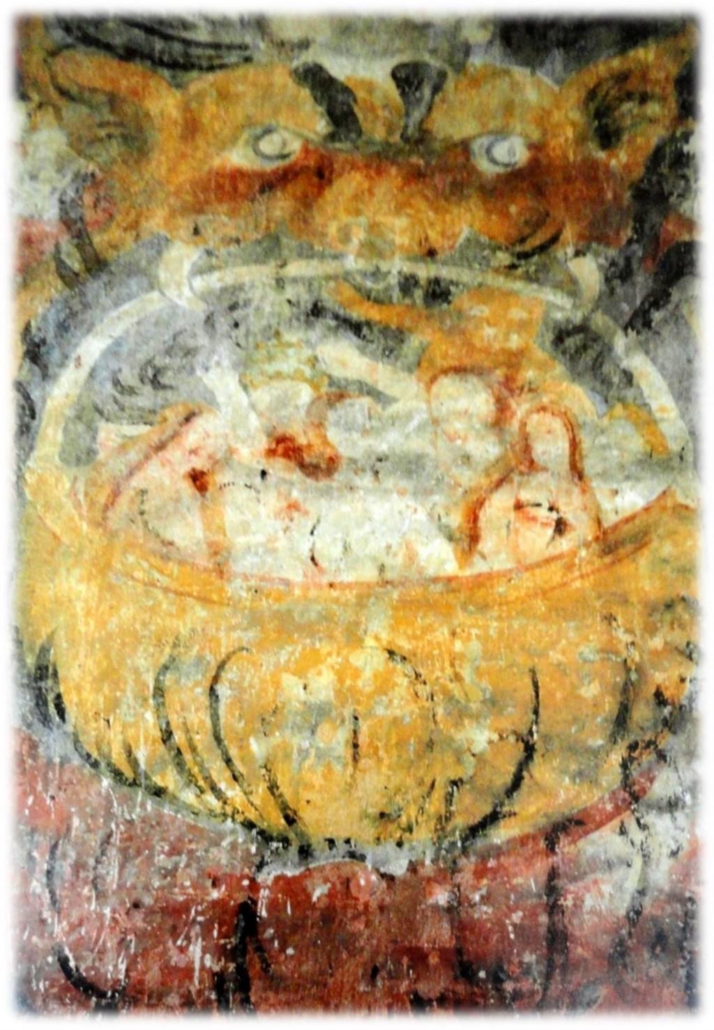 De verdoemden worden gekookt  © De Vierklank