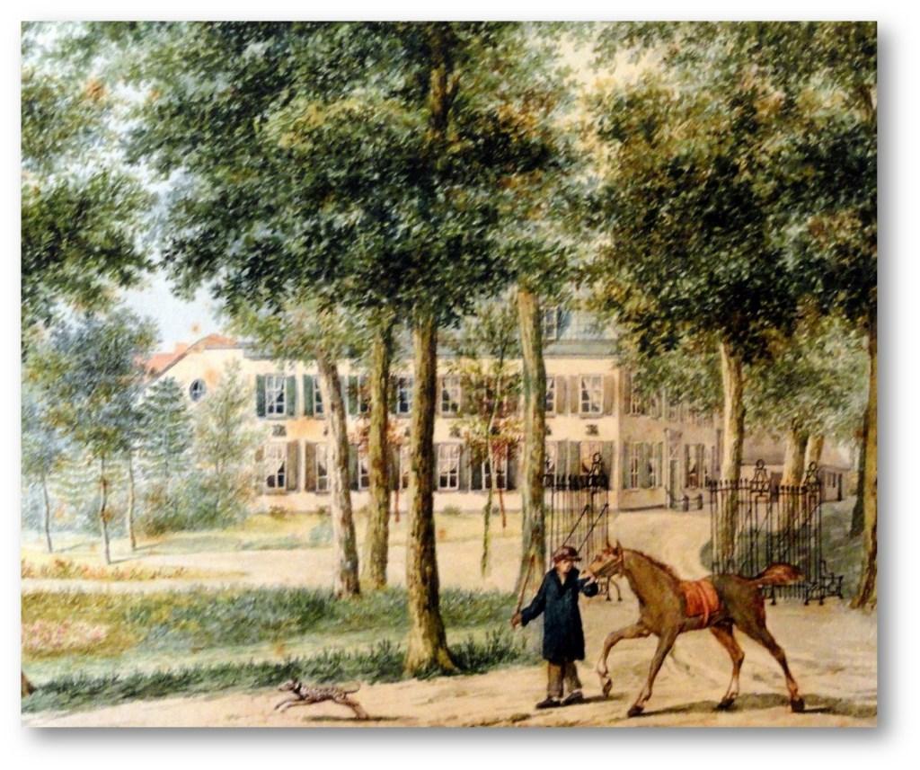 Landgoed Persijn in 1827. (Utrechts Archief.)