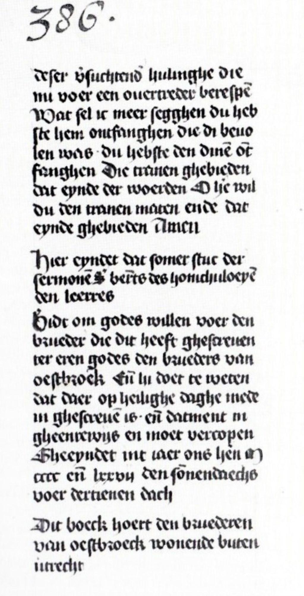 Preken van Bernard van Clairvaux,