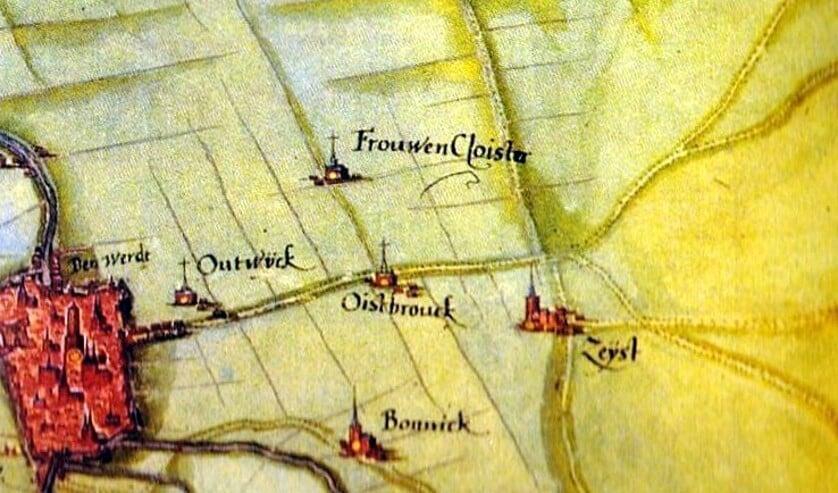 Op een kaart van s'Grooten uit 1592 zijn wel de Biltse kloosters Oostbroek en Vrouwenklooster alsmede de dorpen Maartensdijk en Westbroek te zien. De Bilt werd kennelijk minder belangrijk geacht: het staat er niet op.