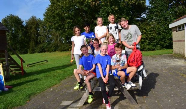 Winnaars van de groepen 7 en 8.