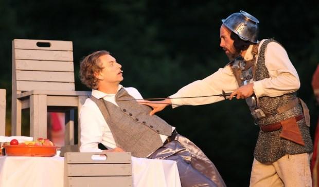 Uit de voorstelling 'Don Quichot'.