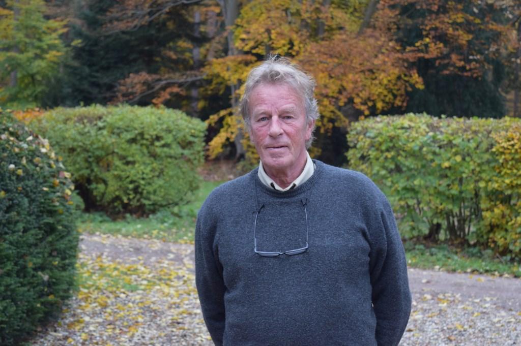 Boswachter Hans Hoogewerf sprak met Melis de das.  © De Vierklank