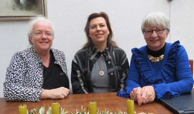 Drie leden van de voorbereidingswerkgroep v.l.n.r. Els Bonten, Esther van Keulen en Inge Fuijkschot.
