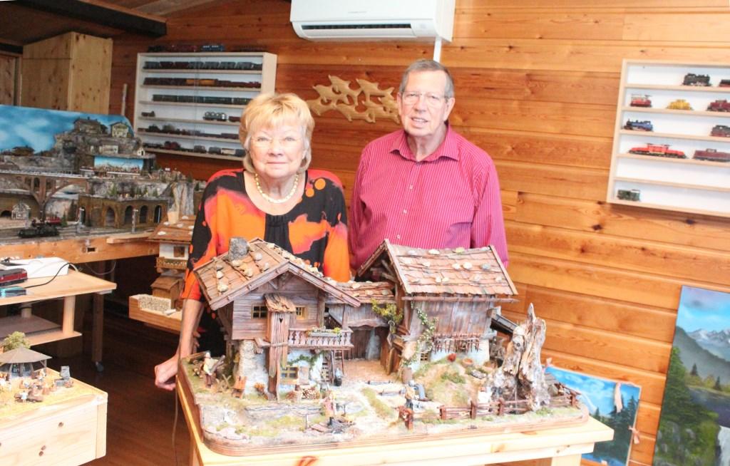 Andrea en Hans hebben 'alles' met Oostenrijk.  © De Vierklank