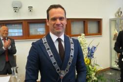De nieuwe burgemeester Sjoerd Potters.