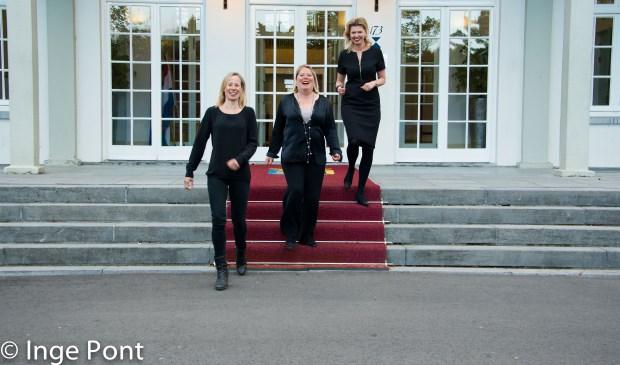 Maaike Dekkers, Ike Bekking en Vivienne van Eijkelenborg zijn het gezicht voor de ondernemersverkiezing.