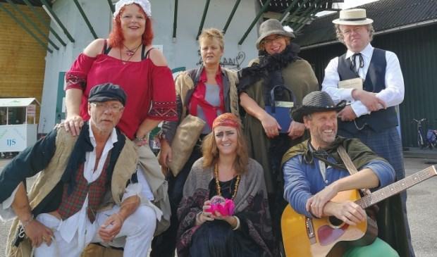 Sojater verzorgde tijdens Open Monumentendag een optreden tijdens een boerenlunch in de Molen van Westbroek.