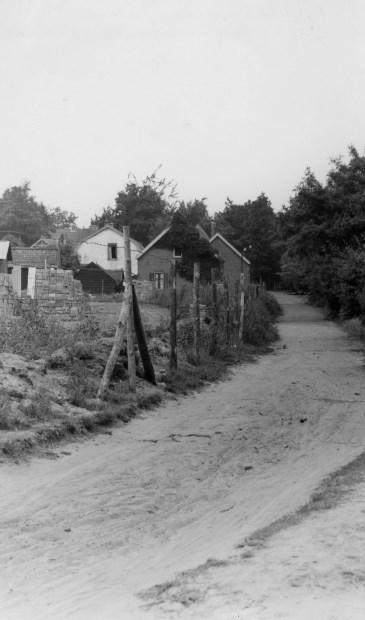 Een foto uit 1952; Jachtlaan 'Doodweg'. (uit de digitale verzameling van Rienk Miedema)
