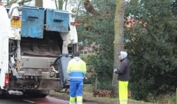 In verband met Nieuwjaarsdag werd afval in gebied 3 op zaterdag 6 januari opgehaald, dat was duidelijk niet bij iedereen bekend.