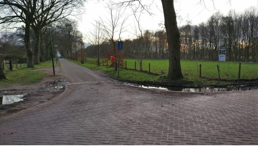 Burgemeester en wethouders van de gemeente De Bilt vinden dat de bermen van de Schaapsdrift in Hollandsche Rading van onvoldoende stevigheid zijn.  © De Vierklank