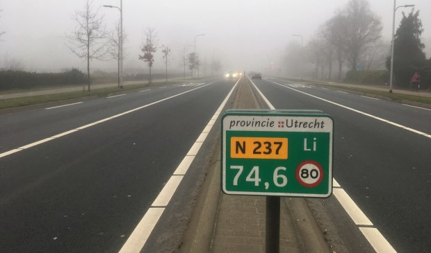 De provinciale weg N237 loopt van de verkeerspleinen De Berekuil bij Utrecht naar de Stichtse Rotonde bij Amersfoort.