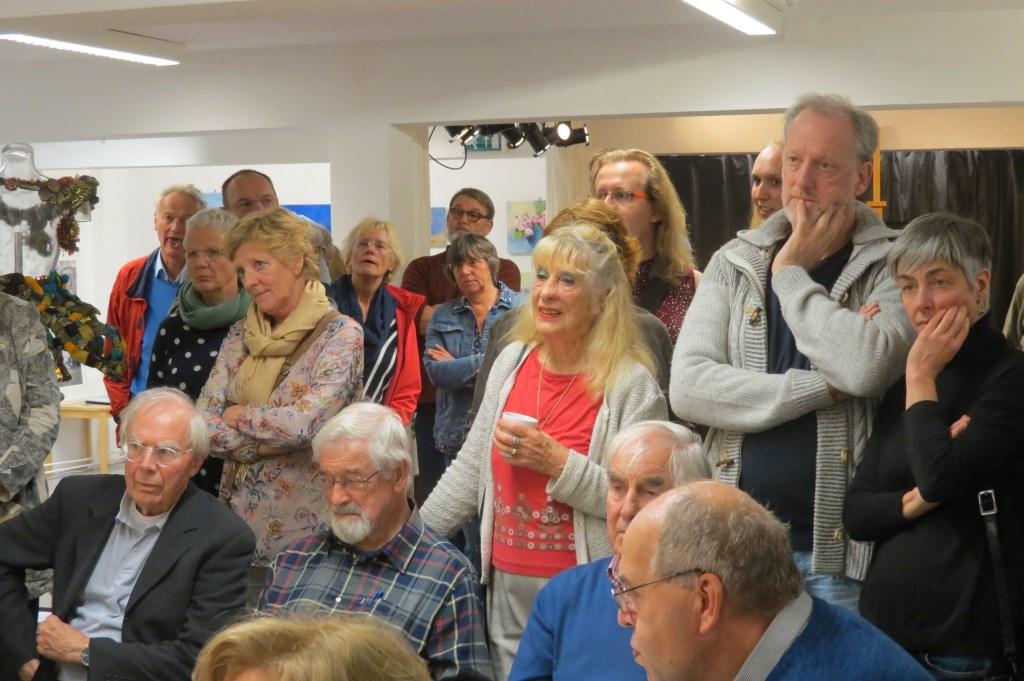 Veel bezoekers woonden de opening bij.  © De Vierklank