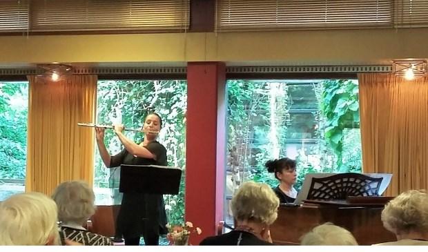 Duo Subiaco gaf zondagmiddag 7 oktober een verrassend concert in de Schutsmantel.