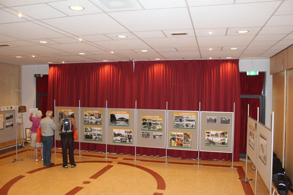 In de school was een deel van de tentoonstelling over 100 jaar Bilthoven ingericht.  © De Vierklank