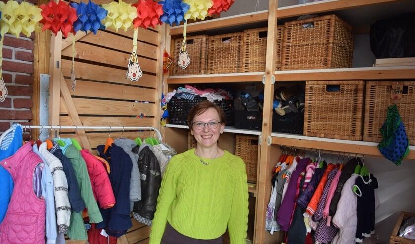 Karolina Owczarek hoopt dat veel kleding weer een goede bestemming krijgt.