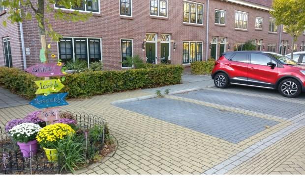 Voldoende plek voor een invalideparkeerplaats stellen de pleitbezorgers van de wijk.  © De Vierklank