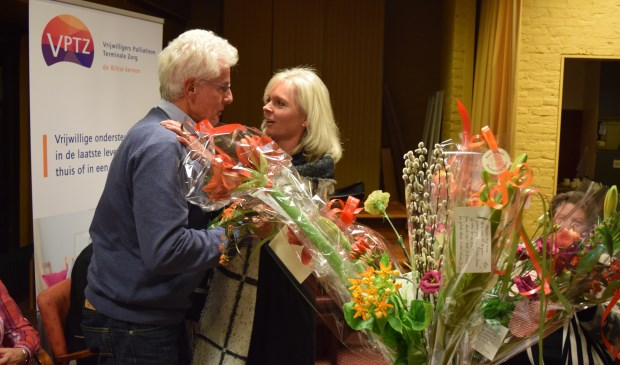 Van Leer neemt afscheid van 'zijn' vrijwilligers.
