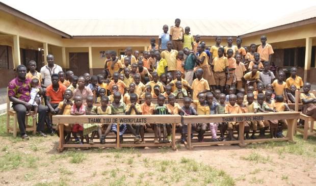 Meer dan 1000 basisschoolzitplaatsen zijn gerealiseerd.