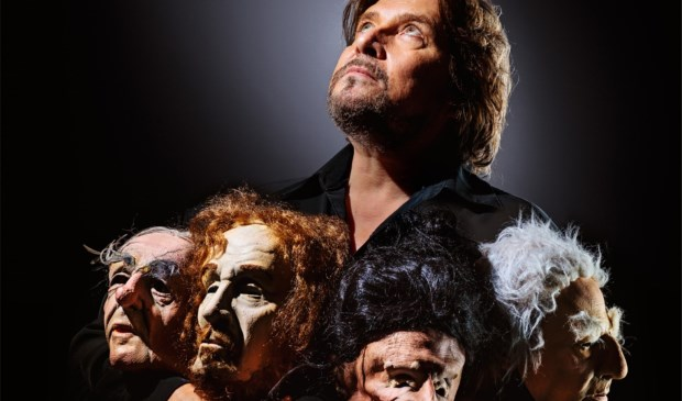 Fred Delfgaauw creëert rake personages die hij van unieke stemmen voorziet.