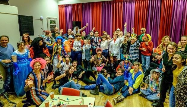 Carnaval in De Kroeg levert prachtig outfits op.