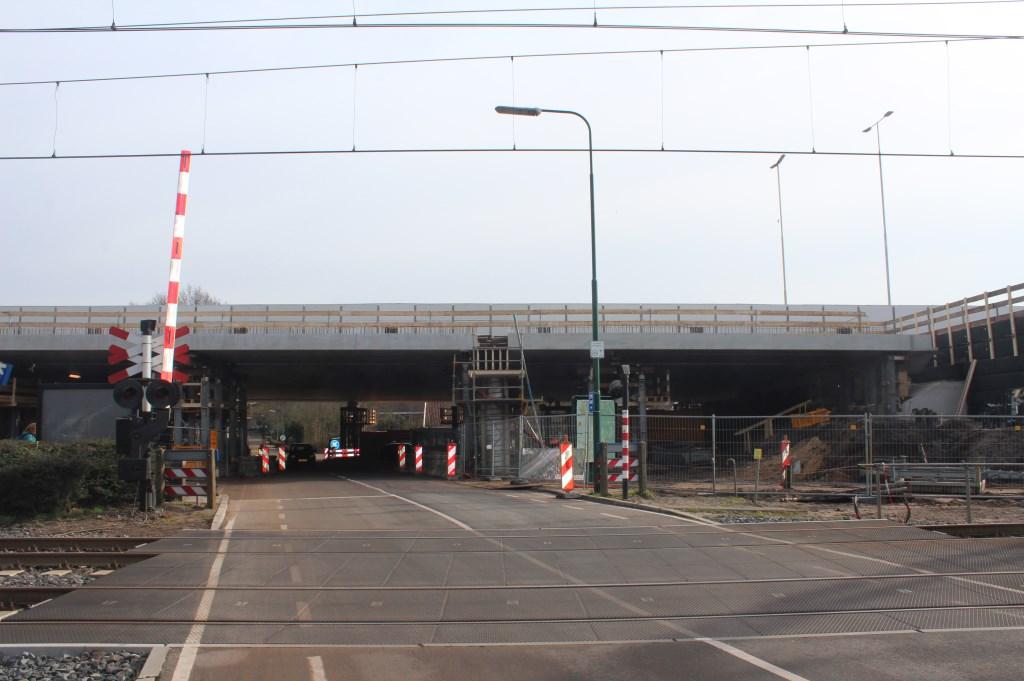 De klus (aan de westzijde van het viaduct) is geklaard.
