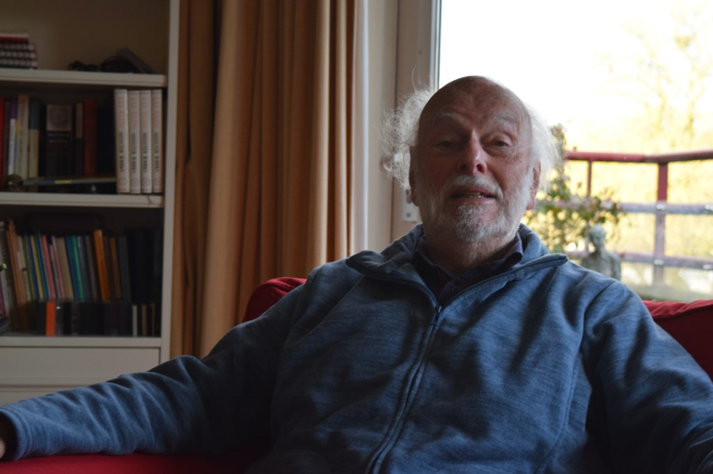 Richard van Staa was als student betrokken bij de Watersnoodramp