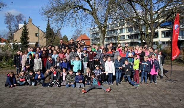FC Utrecht te gast op De Rietakker.