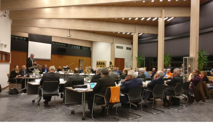 De laatste raadsvergadering voor de verkiezingen.