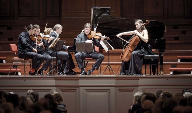 Misha Fomin & Atrium Quartet in Het Concertgebouw van amsterdam.